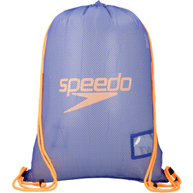 speedo Equipment Mesh Bag L, ultramarine/ fluo orange